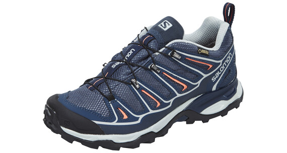 Salomon X Ultra 2 GTX - Chaussures Femme - gris/orange